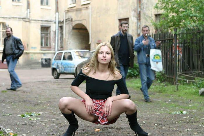 русские эксбиционистки на улице фото