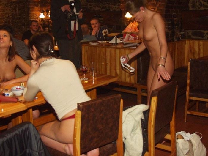 частные фото в барах