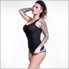 Step aside, girls. Christy Mack is here