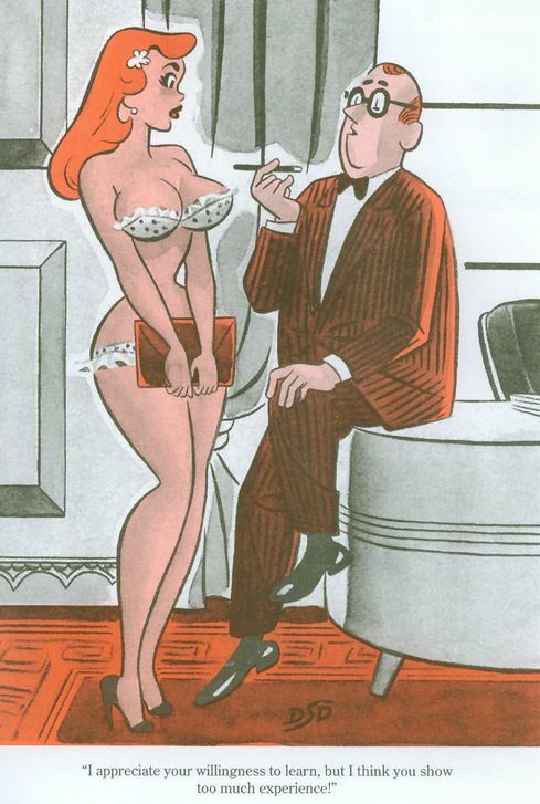 old sex comics from the 1960s
