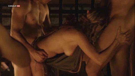 escenas de sexo spartacus