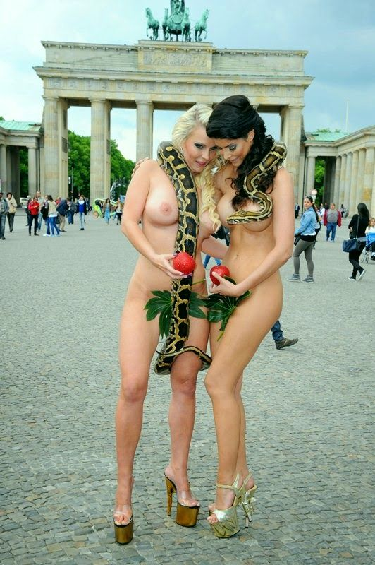 And naked adam eve