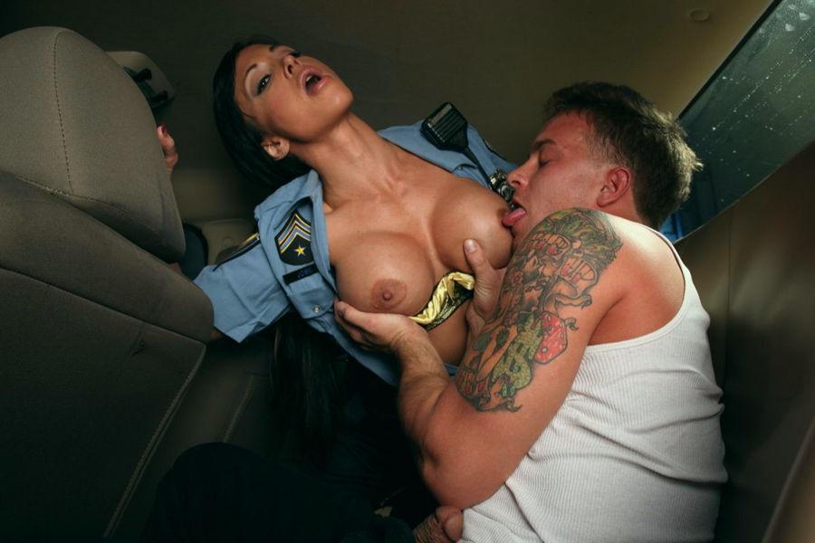Jewels jade police bitch