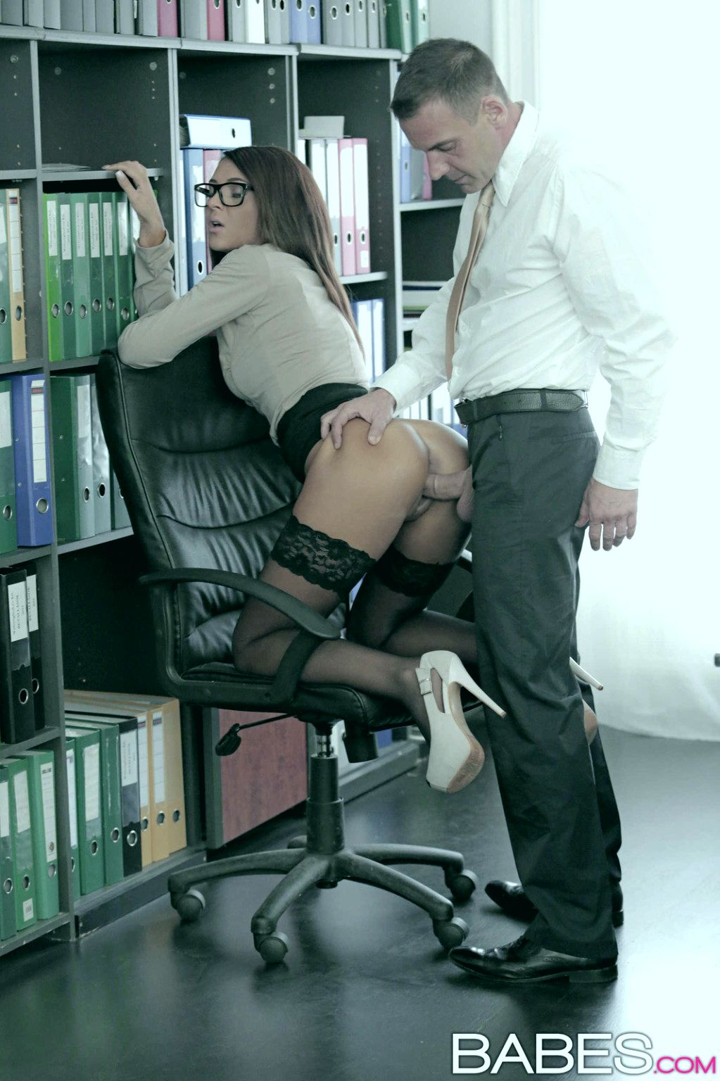 русский быстрый секс на работе