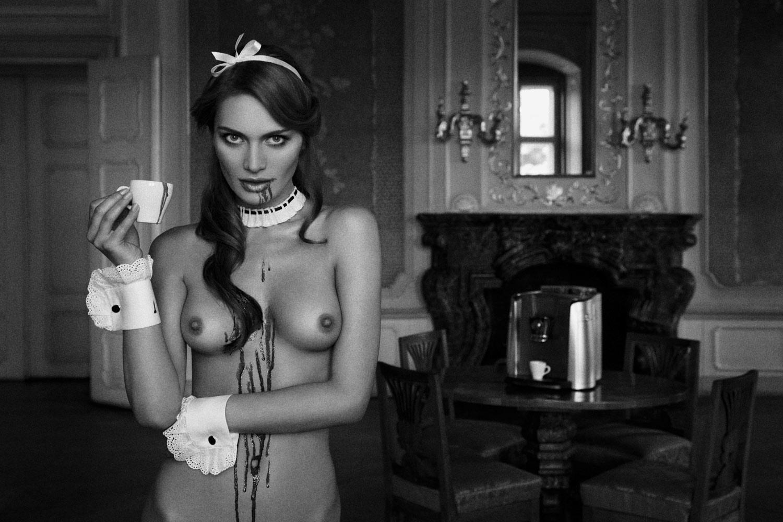 Эротические черное фото, Чёрно-белая эротика - красивые фото голых девушек 12 фотография